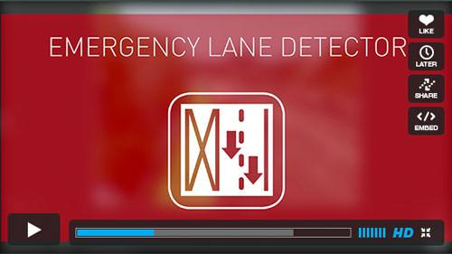 ITS 02 EMERGENCY LANE DETECTOR player